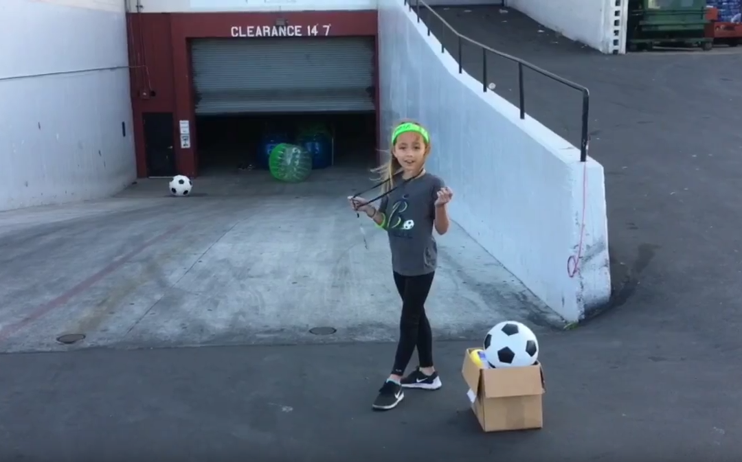 Bubble Soccer Club Intern Blooper