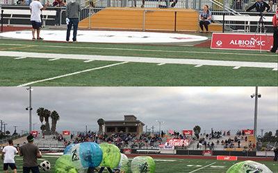 Albion Pros FanFest with soccer superstar, guest speaker, Landon Donovan!